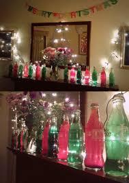 diy coke bottle christmas decorations fill a coke bottle with a