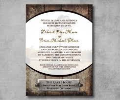 western wedding invitations 30 western wedding invitation templates free sle exle