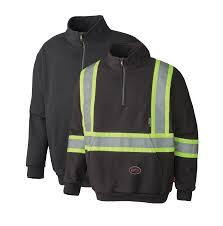 fire retardant hi viz hoodie direct workwear