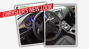 2015 Chrysler 200 Interior Is This The Interior Of The 2015 Chrysler 200