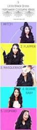 witch costume hairstyles 5 little black dress halloween costume ideas roxy james