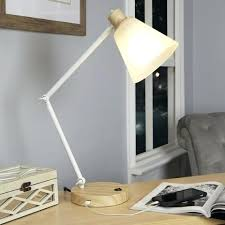 desk lamp with usb port table lamps with electrical outlets