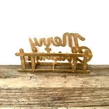 Vintage Desk Organizer Brass Letter Holder Vintage Brass Merry Mail