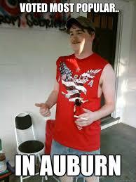 Auburn Memes - voted most popular in auburn redneck randal quickmeme