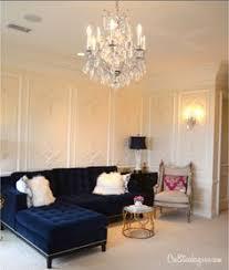 blue velvet sectional sofa haute house horton navy velvet sofa navy house and living rooms