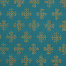 Furniture Upholstery Fabric by Turquoise And Gold Fabric For Furniture Upholstery Medallion