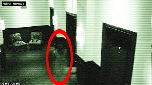 ghost in hotel on halloween caught of security camera 100 real