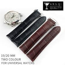 omega bracelet watches images 19mm 20mm universal man calf leather for omega watchband watch jpg