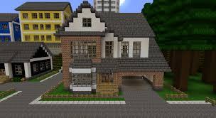 white brick house minecraft project