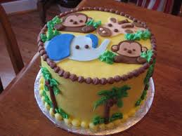 torta de baby shower de safari shower pinterest baby showers