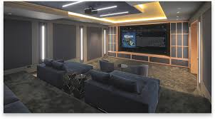 Media Rooms - home theater systems media room sports movies video games