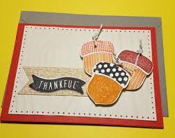thankful card handmade thanksgiving cards october card