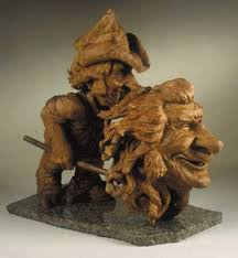 collection of magnificent woodworks wood carvings by fred cogelow