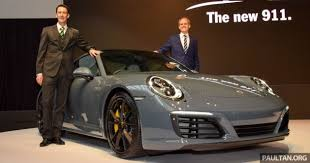 porsche 911 turbo malaysia porsche 911 facelift launched s and 4s