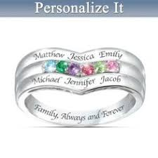 personalized rings for mothers a s embrace personalized birthstone ring jewelry