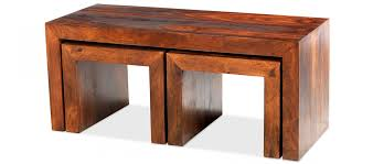 Coffee Table Nest by Cube Sheesham Long John Coffee Table Quercus Living