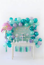 mermaid party ideas splash on to this adorable mermaid party project nursery