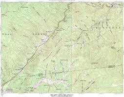 nantahala river map nantahala river via camp watia n2backpacking com