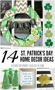 st patrick u0027s day home decor 14 crafts and printables