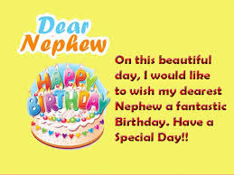 birthday wishes for nephew greetings and messages wishes lines