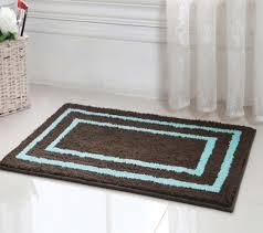 Brown And Blue Bathroom Rugs Bathroom Blue And Brown Bath Rug Home Design Ideas For Light