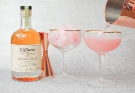 martini champagne rose rose cotton candy pink champagne cocktails for nye