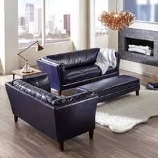 Navy Blue Sofas by Vintage Navy Leather Camelback Sofa I Would Put This In My Office