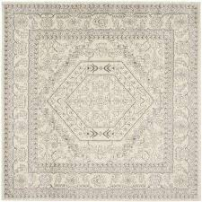 silver square area rugs rugs the home depot