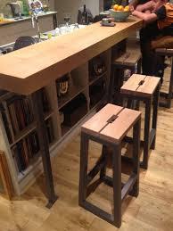 free standing kitchen island with breakfast bar free standing furniture dc woodwork oak breakfast bar steel stools