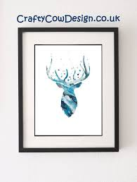 Christmas Reindeer Head Wall Decoration by Best 25 Stag Head Ideas On Pinterest Deer Head Stencil
