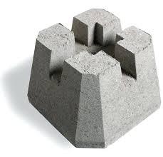 cement deck blocks 6 inch x 6 inch deck block free standing deck