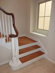 Laminate Floor Steps How To Lay Hardwood Flooring On Stairs Wood Floors