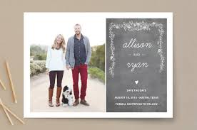 save the date designs chalkboard save the date cards by simplete design minted