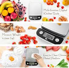 Kitchen Tools And Equipments And Their Uses Amazon Com 1byone Digital Kitchen Scale Precise Cooking Scale And