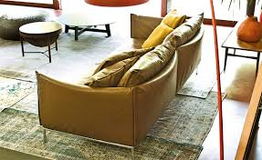 2 Seater Sofa Leather by Gentry 90 Two Seater Sofa Hivemodern Com