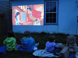 Backyard Projector Movie Av For You Rental