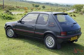 peugeot automatic used cars 1992 peugeot 205 gti graphite grey auto automatic