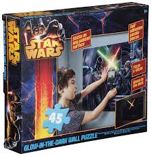 sambro star wars glow in the dark wall puzzle amazon co uk toys