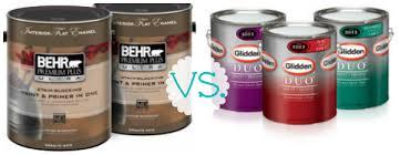 behr v glidden paint comparison craft room sneak peek sweet