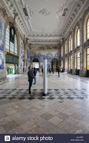 Arcaid Images Stock Photography Architecture by Portugal Porto Sao Bento Railway Station Interior Main Hall