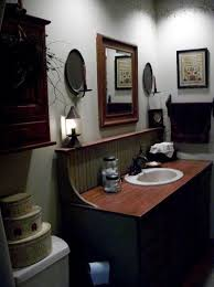 primitive country bathroom ideas get 20 small country bathrooms ideas on without signing
