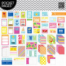 themed cards summer cards planner supplies and project