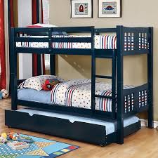Felix Wood Twin Bunk Bed Available In White Blue Green And Pink - Navy bunk beds