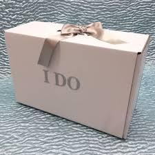 wedding dress boxes for travel diamante i do