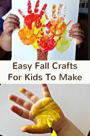 best cheap fall crafts for kids ideas on pinterest