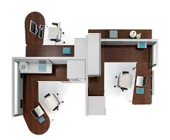 Cubicle Layout Ideas by Awesome Interior Design Ideas For Office Space Contemporary