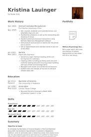 Salon Receptionist Resume Sample by Caretaker Resume Samples Visualcv Resume Samples Database