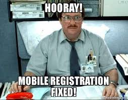 Make A Meme Mobile - hooray mobile registration fixed milton from office space make