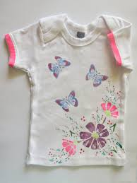 flowers and butterflies onesie baby shower craft favecrafts com