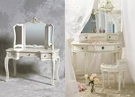 Ornate Vanity Table Cream Washstand With Ornate Cabinet Doors And Honed Gray 30